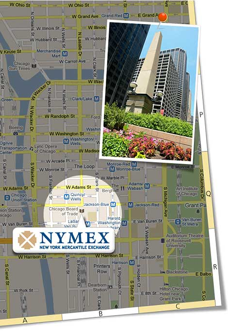 NYMEX – Google Map