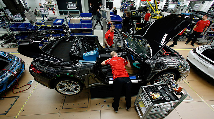 Завод Porsche