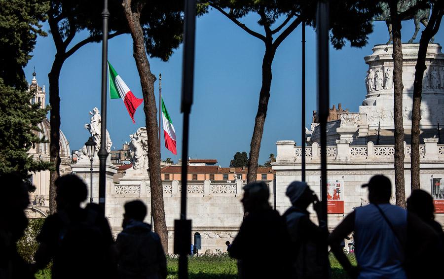 Италия. Памятник неизвестному солдату